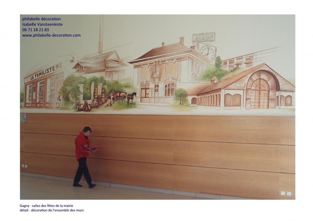 mairie de Gagny - salle des fêtes - extrait