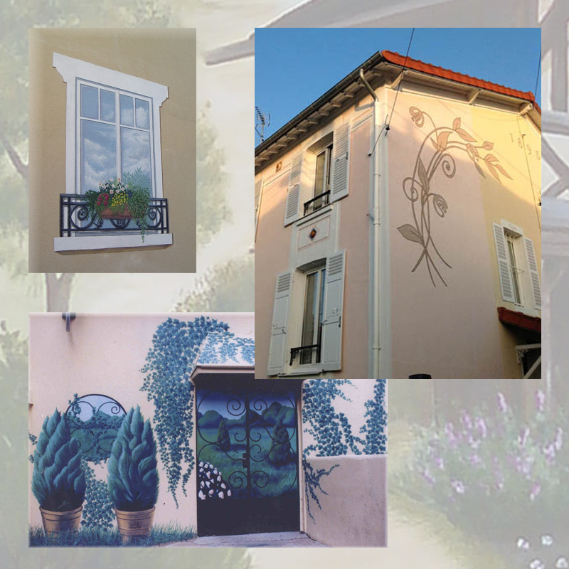 decoration-de-facade-copie dans Art
